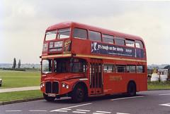 EastLondon-RMA8-NMY640E-NorthWeald-290697b (Michael Wadman) Tags: bea routemaster eastlondon northweald britisheuropeanairways nmy640e rma8