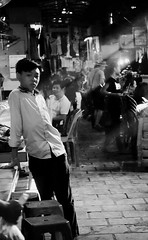 Phnom penh-Cambodia, Russian market (.Ulie) Tags: world life street travel school light boy summer people bw children photography waiting uniform asia cambodge cambodia noir market visit russian blanc journalism phnom penh