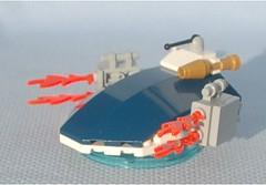 Melee Landshark (Mantis.King) Tags: lego scifi futuristic mecha mech hovercraft moc microscale mechaton mfz mf0 mobileframezero largestbrickchallenge