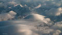 Karakoram cloud (Jon Bowles) Tags: mountain snow mountains landscape aerial hills karakoram sonya7rii
