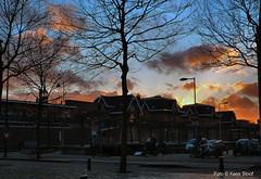 Cruquiusweg 30-1-2016 (kees.stoof) Tags: sunset amsterdam zonsondergang zeeburg cruquius veemarkt ohg oostelijkhavengebied cruquiusweg