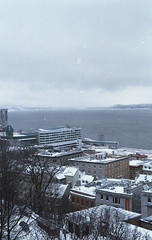 Vieux-Quebec #1 (nroclaniffirg) Tags: newyears quebeccity kodak400 fall2015 winter2016
