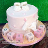Olivia - Christening Cake / Naming Day Cake (PerfectionistConfectionist) Tags: christeningcake cakesnorthcountydublin cakesdublin christeningcakeswordsmalahidekinsealy