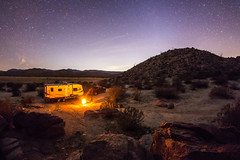 Camping in Blair Valley in Anza-Borrego Desert State Park (slworking2) Tags: california camping sky night stars us julian unitedstates desert nighttime anzaborrego rv campground blairvalley