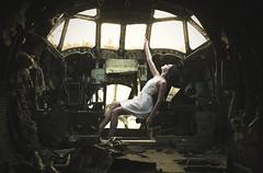 ''Fading memories'' (juriskokins) Tags: sunset abandoned backlight airplane evening nikon rust artistic contemporary grunge fineart 85mm surreal artsy fantasy f18 fx darkart artisticphotography d610 surrealphotography