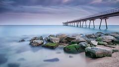 El pont II (EBCN) Tags: barcelona longexposure landscape nikon paisaje d300 largaexposicin emiliobcn