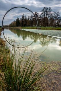 Sculpture Rinke - Canal du Morge