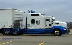 Kenworth 242, GO-2 Trans, Norwin, PA. 12-08-2015 (jackdk) Tags: tractor truck semi transportation semitruck kw kenworth tractortrailer go2 go2transportation
