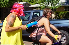 4607 (AJVaughn.com) Tags: park new arizona people beach beer colors bike bicycle sport alan brewing de james tour belgium bright cosplay outdoor fat parade bicycles vehicle athlete vaughn tempe 2014 custome ajvaughn