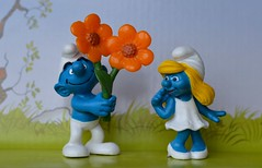 Chapter One (linda_lou2) Tags: toy smurfs smurfette week6 schleich 52weeksof2016 themechapter1 categorystorytelling