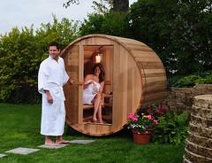 venta de saunas de exterior