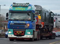 D8188 Class 20 Locomotive, Allelys Heavy Haulage Move. (photobobuk - Robert Jones) Tags: uk england history transport somerset locomotive preserved railways severnvalley manufacturing haulage dorest hertiage class20 allelys heay d8188