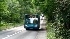 SCC Bus Review 2015 - 35 on Red Road (bobsmithgl100) Tags: bus buh surrey alexander dennis lightwater route35 redroad 4020 enviro200 gn58 gn58buh arrivakentsurrey