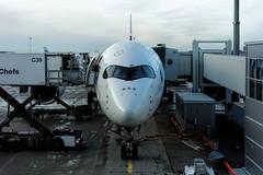 Airbus A350 - MSN 19 - OH-LWB (Matthias Harbers) Tags: photoshop plane finland flying airport helsinki sony finnair cybershot elements airline airbus labs dxo traveling hel jetplane vantaa topaz helsinkivantaa flygplats helsinkiairport rx100 helsingforsvanda