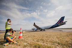 Spotters day 8th of August 2015 Brussels Airport (Brussels Airport) Tags: camera tarmac plane photo farm picture august runway fuel spotting spotters spotter airside 25r spottersday spottersdag