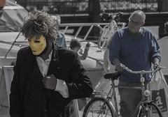 Street theatre (frankmh) Tags: people skne artist theatre sweden outdoor performance helsingborg streettheatre