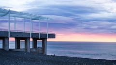 Morning (NOL LUV DI) Tags: sea sunrise coast rise napier