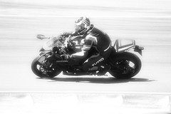 windy (Rodrigo Alceu Dispor) Tags: people bw bike sport race speed fast windy interlagos