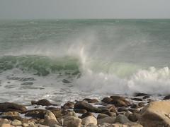 Tempte  la Pointe du Finistre - Pointe de Lervily - Audierne - Hiver 2016 (jeanyvesriou1) Tags: ocean sea mer brittany wave bretagne vague breakingwave tempte finistre ocan windstorm audierne pointedelervily lecapsizun