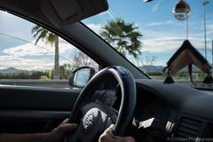 Driving (Cristianphotography) Tags: road city trip travel car spain nikon d5200 nikond5200