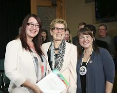 IMG_0952  Premier Kathleen Wynne made an announcement of funding on the Ending Violence Against Indigenous Women Strategy. (Ontario Liberal Caucus) Tags: zimmer aboriginal indigenous meilleur violenceagainstwomen indigenouswomen jaczek maccharles svhap