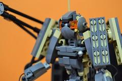Decibelle_04 (Shadowgear6335) Tags: orange radio robot factory lego good technic hero bionicle mech moc shadowgear6335 bionicle2015