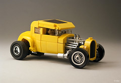 John Milner (_Tiler) Tags: ford car milner lego banana hotrod vehicle coupe deuce georgelucas americangraffiti 1932fordcoupe johnmilner 32fordcoupe 32forddeuce yellowdeuce