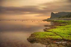 _U1H1407 Lý Sơn.Quảng Ngãi 0316 (HUONGBEO PHOTO) Tags: ocean longexposure sea sky mountain seascape beach nature beautiful rock sunrise island photography march moss outdoor flank núi đá thiênnhiên bìnhminh ngoàitrời quảngngãi canoneos1dsmarkiii hònđảo chụpphơi vietnamimages olympuszuiko24mmf28 anvinh đạidương rongrêu đảolýsơn chụptốcđộchậm vietnamseascape ndfilterhoya10stop