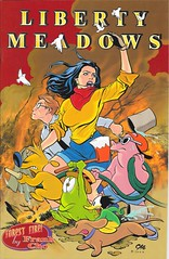 Liberty Meadows 11 Front Cover (zigwaffle) Tags: animals frank oscar dean humor leslie comicbook 1998 brandy ralph truman frankcho libertymeadows