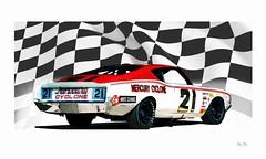 Cale... (Stu Bo) Tags: racecar 21 champion icon racing nascar halloffame legend racingcar carart artisticexpression caleyarborough idreamofcarsmotorsandhorsepower sbimageworks
