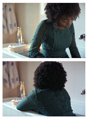 a puerile gravity (M. Thurman) Tags: portrait film beautiful beauty analog 35mm bath diptych soft candles fuji natural lace afro grain young curls naturallight indoor indoors 35mmfilm portraiture romantic fujifilm bathtub dreamy candlelight backlit analogue grainy brunette canonae1 delicate naturalhair curlyhair youngwoman candlelit softlight windowlight blackwoman fujicolor romanticism filmphotography lacedress softcolor filmisnotdead fujicolorsuperia1600