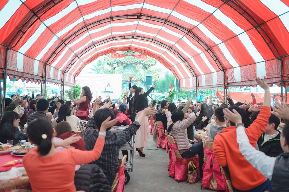 婚禮攝影-台南北門露天流水席-069