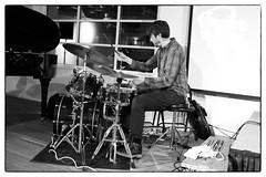 Steve Beresford & Tom Skinner @ Strange Umbrellas, Foyles, London, 18th March 2016 (fabiolug) Tags: leica blackandwhite bw music london monochrome 35mm drums blackwhite concert live voigtlander gig livemusic performance piano objects rangefinder improvisation improv monochrom bookshop biancoenero foyles pianoforte leicam steveberesford tomskinner voigtlandernokton35mmf14 voigtlandernoktonclassic35mmf14 voigtlander35mmf14 mmonochrom leicammonochrom leicamonochrom strangeumbrellas steveberesfordtomskinner