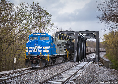 Norfolk Southern 4001 in Ashville, Ohio
