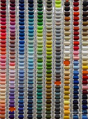 Curtain Shop Threads1 (g crawford) Tags: color colour colors thread spools shop colours cotton curtains kilmarnock crawford cushions bobbins ayrshire
