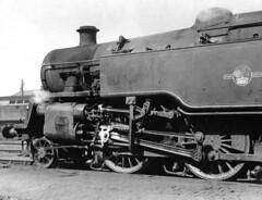 BR Standard 2-6-4T, 80124  at Edinburgh St Margarets shed, 64A (rac819) Tags: steam railways britishrailways steamlocomotives uksteam brsteam