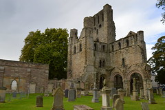 Kelso Abbey, Scotland (Tony Worrall Foto) Tags: county uk building abbey stone scotland ruins stream tour open place country north scottish visit location tourist historic holy area northern update past built borders attraction scots ruined relic pastime kelsoabbey