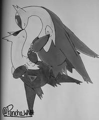 _-8.jpg (poncho_wnh) Tags: blackandwhite art drawing coloring pokemon valentinesday latios latias virtualcopy pokemon20