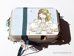 Easter Treat Box - Penny Black inc. (alexandra s.m.) Tags: easter mimi stamping pennyblack eggcarton eggbox paques