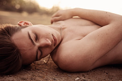 (bernardmesa1) Tags: california gay light boy shirtless portrait male guy canon outside outdoors 50mm model warm natural lgbt 5d f28 bakersfield fit mkii 661