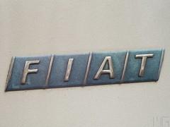 Fiat logo detail (marcogariboldi) Tags: auto car punto automobile fiat convertible cabrio yashica cabriolet yashinon tomioka 1255