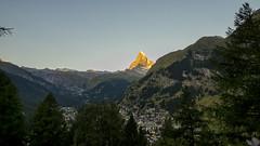 Sunset on Zermatt (__Tristan__) Tags: mountain schweiz switzerland suisse zermatt matterhorn cervin