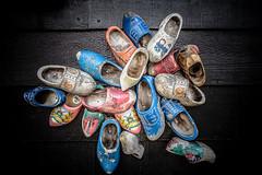 Cinderella is proof that a new pair of shoes can change your life (Peter Jaspers) Tags: holland netherlands dutch olympus panasonic woodenshoe zaanseschans omd klompen clump hss 2016 zaandijk zaanstad em10 klompenmakerij woodenshoefactory 20mm17 sliderssunday frompeterj