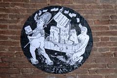 Street art (Alfredo Liverani) Tags: street italien italy streetart art wall canon graffiti italia spray emilia bologna murales italie emiliaromagna g12 bononia canong12 aerosolcolor bologna2016