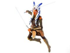 Ahsoka Tano! (Homicide_Crabs) Tags: black toys star starwars series lightsaber wars rebels tano ahsoka togruta
