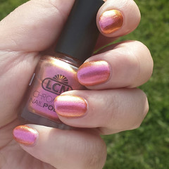 Lola by LCN (Lacquered Nail) Tags: copper lcn duochrome