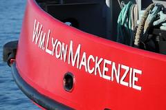 Wm. Lyon Mackenzie (jmaxtours) Tags: lake toronto lakeontario fireboat 1964 tfd torontoontario torontoharbour marineunit torontofiredepartment wmlyonmackenzie modifiedtugboat commissioned1964