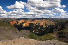 Red Mountain (Colorado, USA) (Begoa Fernndez) Tags: usa colorado silverton telluride rockymountains imogenepass sanmiguel redmountain sanjuanmountains ouray eeuu milliondollarhighway montaasrocosas