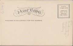 Post Office, Kalamazoo, Michigan, Back (kplcommons) Tags: architecture michigan postcard postoffice kalamazoo buidling unitedstatespostalservice kalamazoopubliclibrary