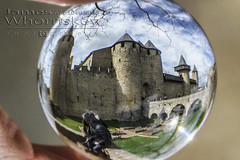 Carcassonne ! (James Whorriskey (Delbert Jackson)) Tags: uk ireland france colour art ball catchycolors photo globe photographer fort picture medieval photograph londonderry northernireland fortress carcassonne oldcity derry ulster impressionsexpressions aroundus jameswhorriskey delbertjackson jameswhoriskey jameswhorriskeyphotography